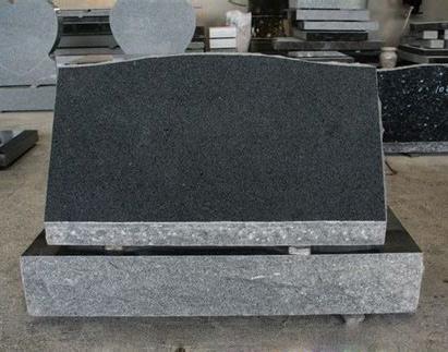 G654 Granite Slant Grave Stone Headstone