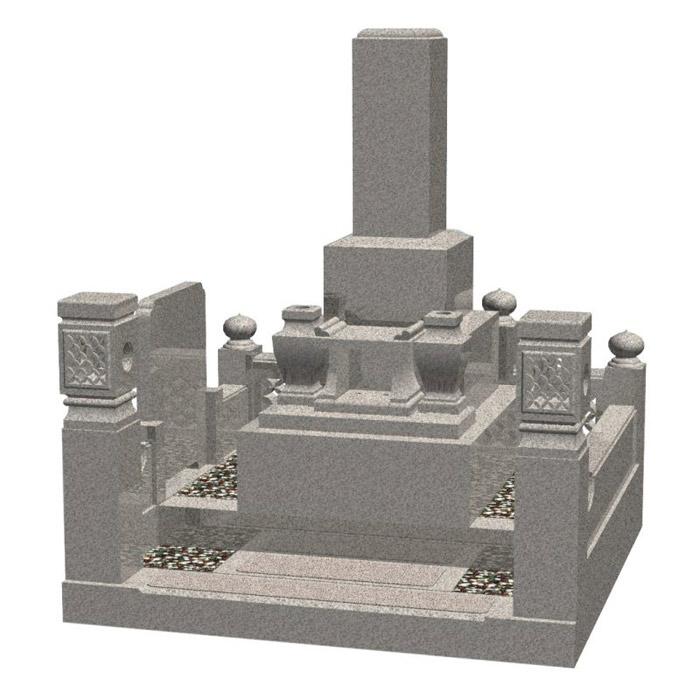 Japanese Style Granite Tombstones