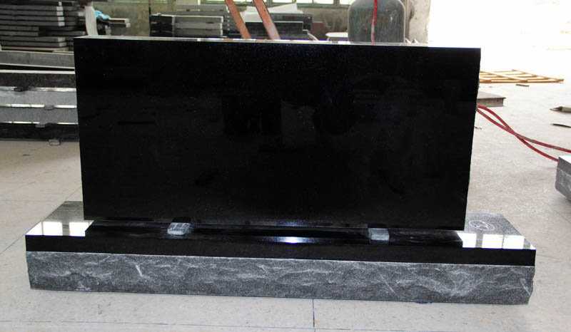 Shanxi Black Granite American Upright Die and Base