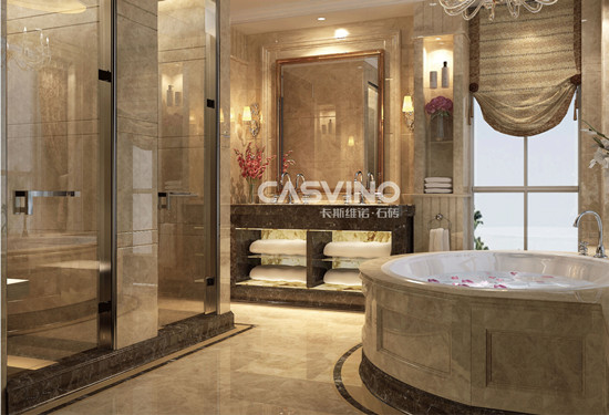 Beige Marble Flooring