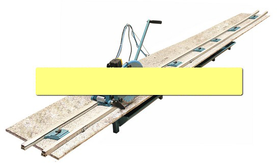 Abaco stone cutting tool RAIL SAW stone tool