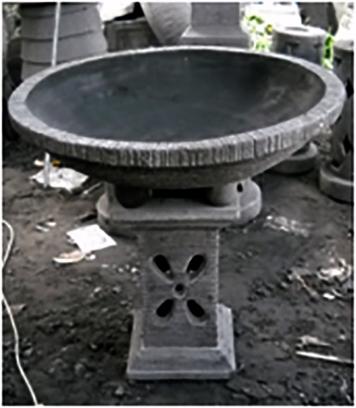 Stone Garden Pots P6