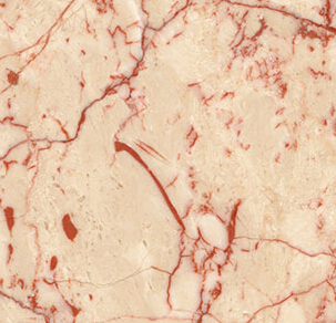 Rosalia Beige Marble with Red veins