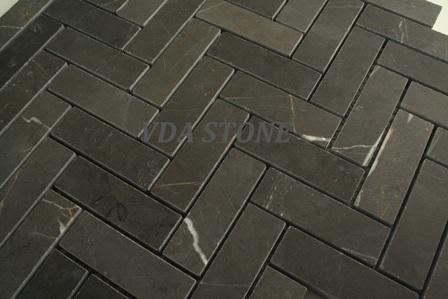 Pietra Grey marble Mosaic