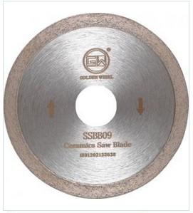 Segmented sintered saw blade 120