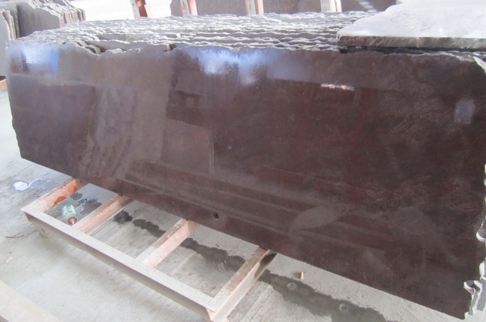 China Rosso Levanto Red Granite Slabs for Building