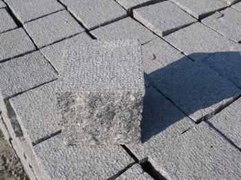 paving stone, cube stone, cobble stone