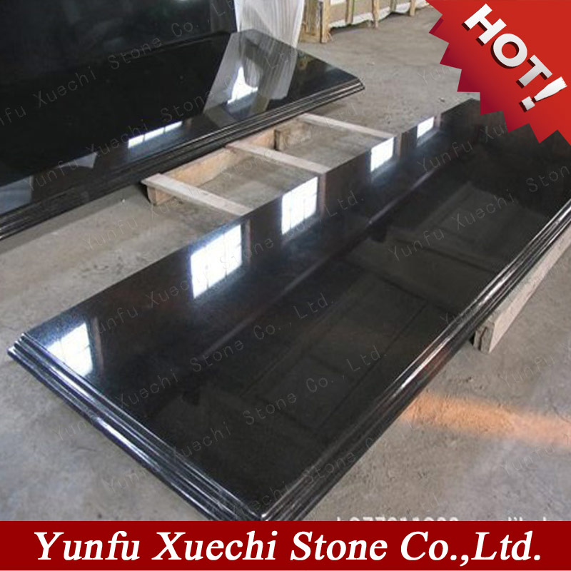 Hot sale shanxi black granite monument on Iran market
