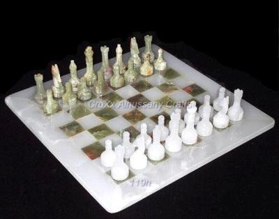 Onyx Chess Set