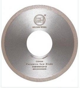 Continuous tooth Ceramic saw blade 180