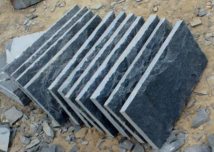 China Black QZ pure white black granite with cheap price