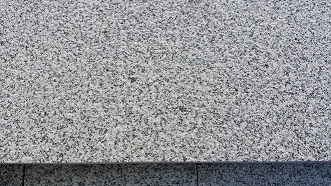 Grey Quintana Granite Top Face Bush Hammered Paving Stone