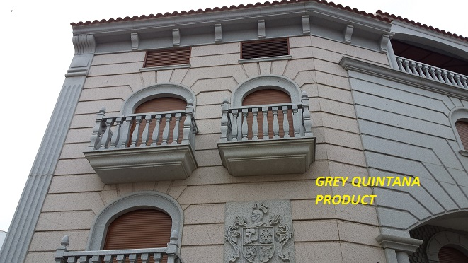 Balustrade Railings Quintana Grey Granite Gris Quintana