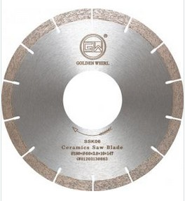 Segmented sintered saw blade 150