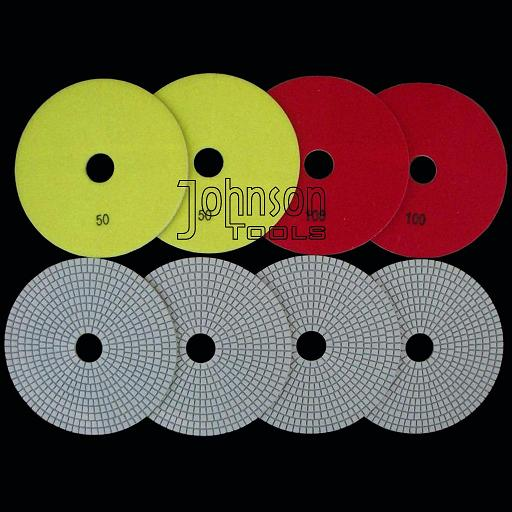 150mm diamond wet polishing pad
