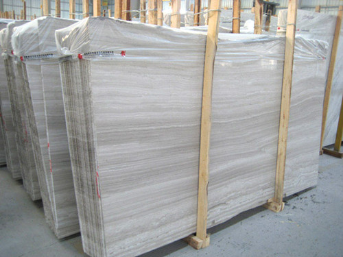 China Marble White Wood Vein
