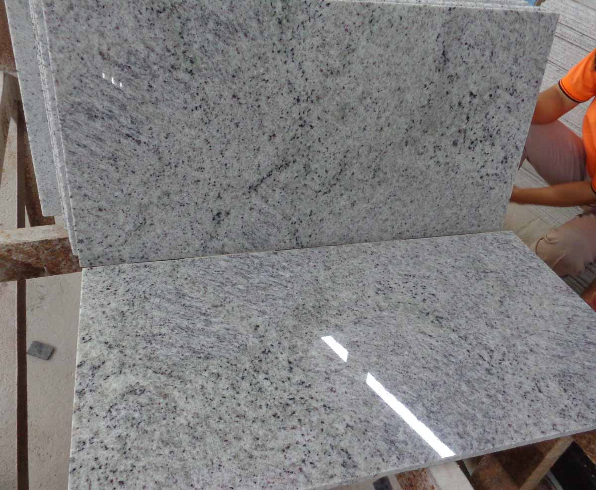 New Kashmir White Granite Tile