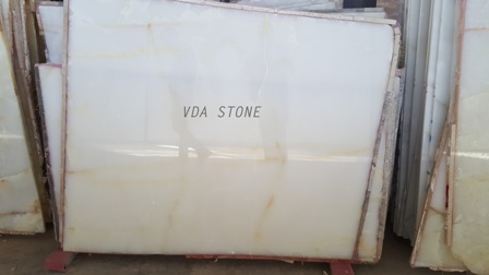 Snow White Onyx Slab