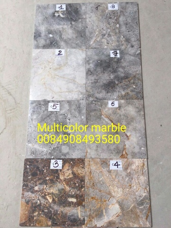 Multicolor marble