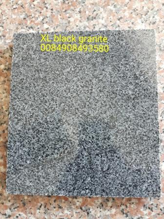 XL black granite