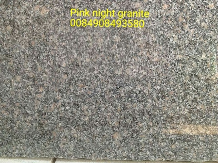 Pink night granite