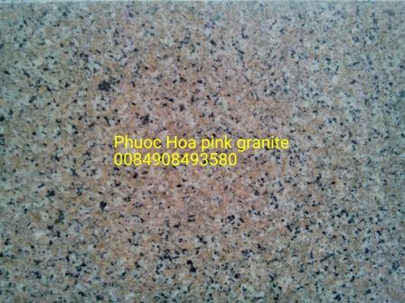 Phuoc Hoa pink granite