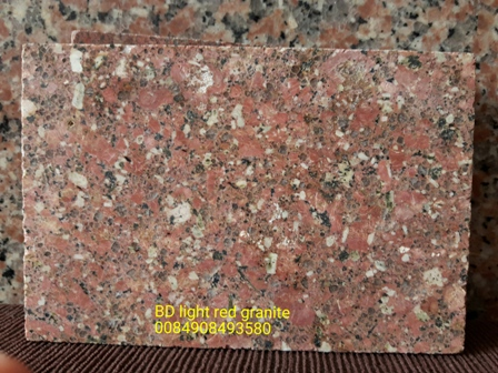 BD light red granite