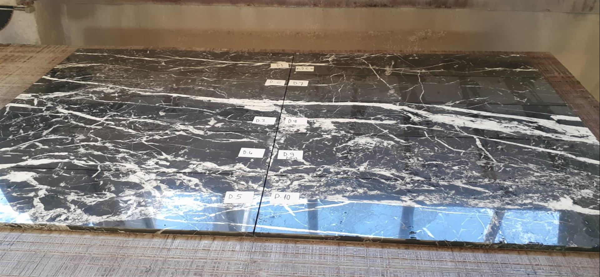 Nebel - Nero Marquina- Black Marble