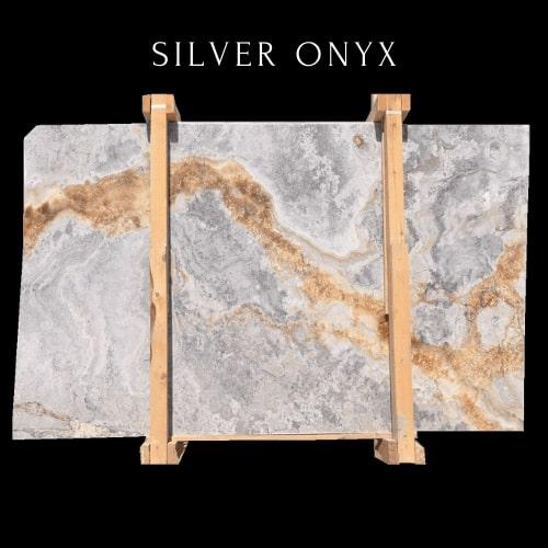 Silver Onyx - Gold Onyx