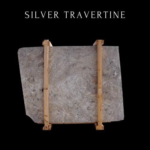 Silver Travertine - Light Travertine