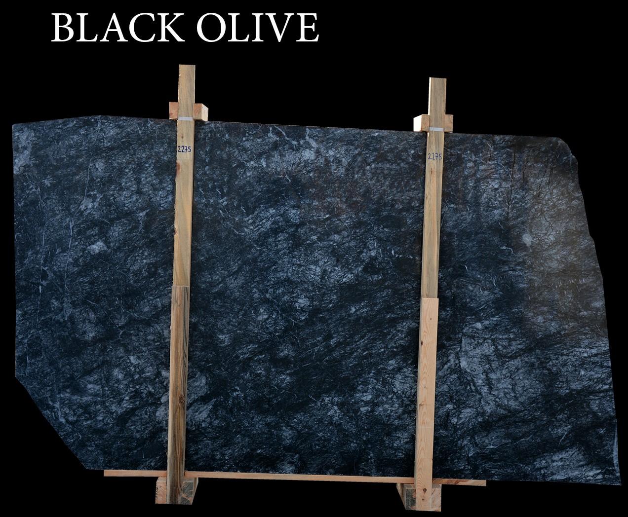Black Olive - Black Marble
