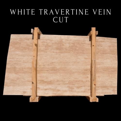 White Travertine Vein Cut - Classicc Travertine
