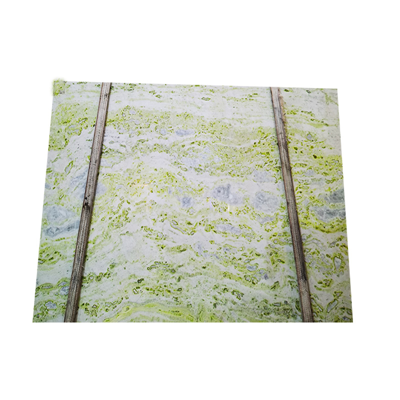 Chinese light green onyx marble slab for wall