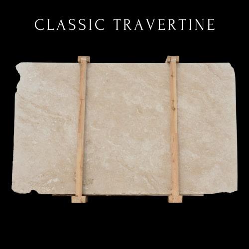 Classic Travertine-White Travertine