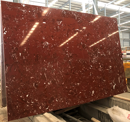 Artificial Marble ZiLuo Red