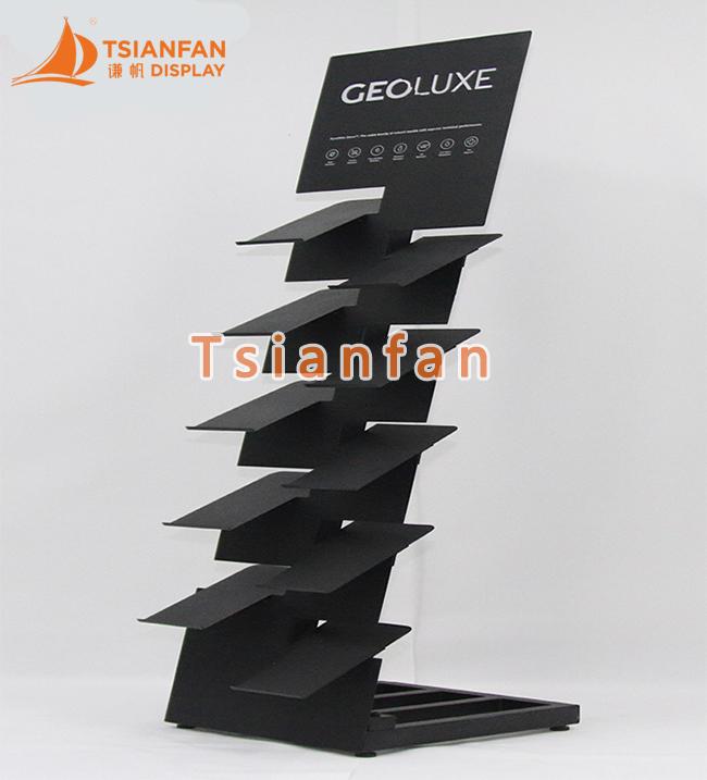 Quartz Stone Display Rack Stone Tile Display Stand