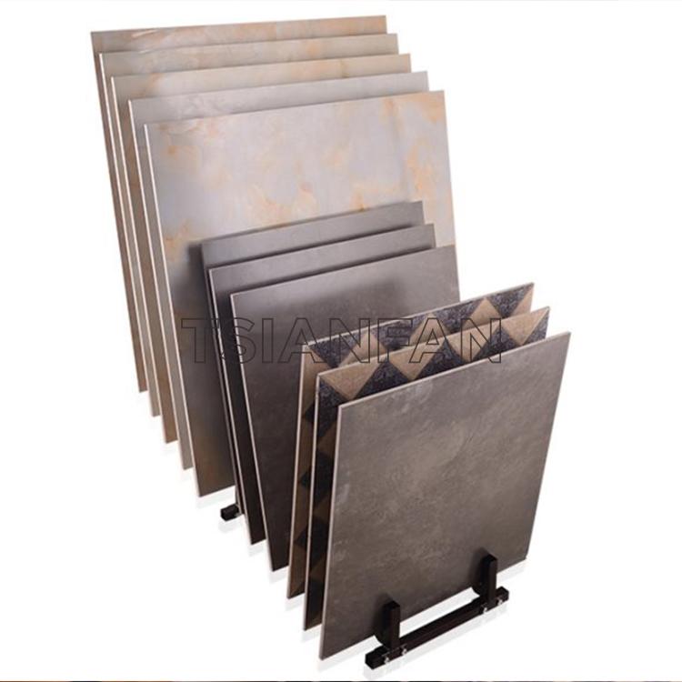 Waterfull Stone Quartz Ceramic Tile Display rack