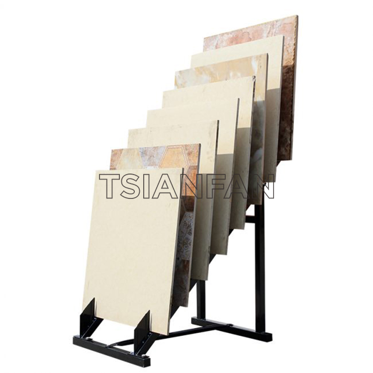 New Ceramic Tile 600 800 Line Sample Display Rack
