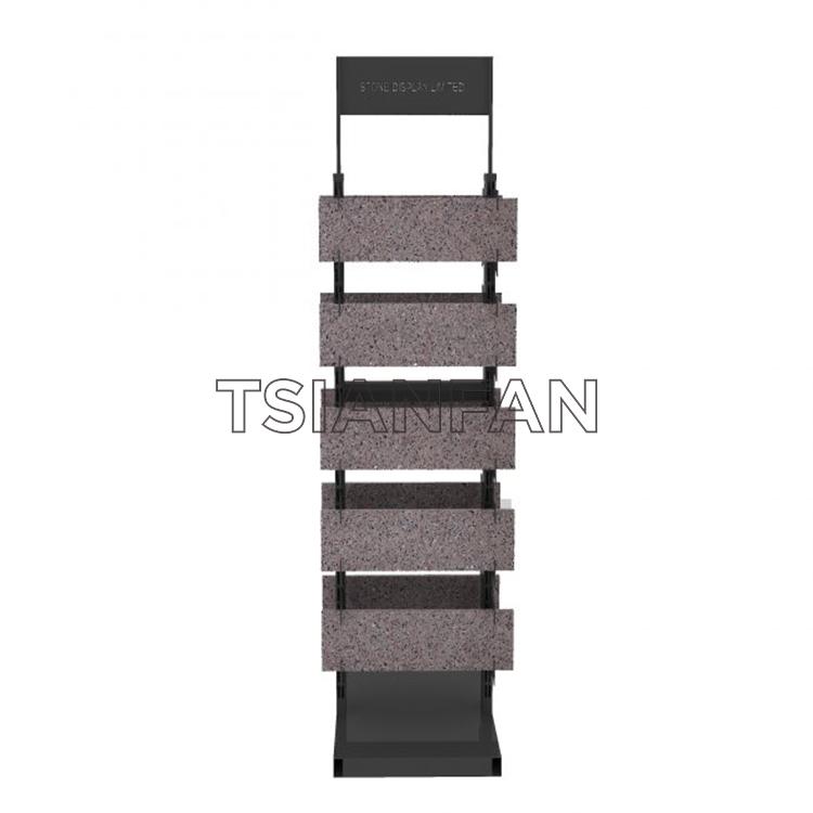 Granite Tile Samples Custom Product Display St-25