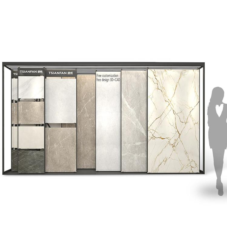 China Creative Ceramic Tile Showroom Display Stand