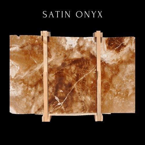 Satin Onyx - Honey Onyx Light