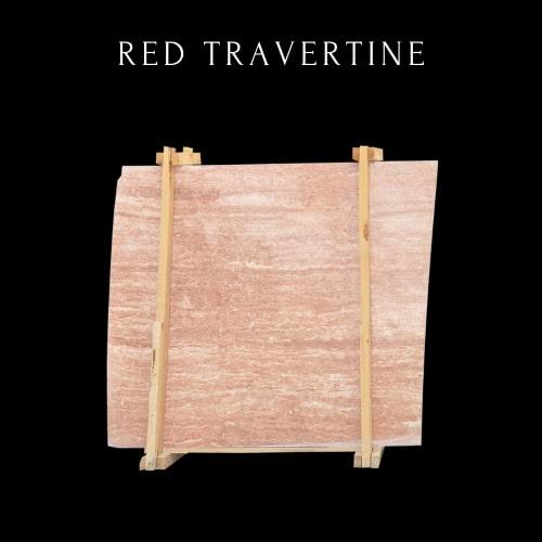 Red Travertine - Travertine Terracotta