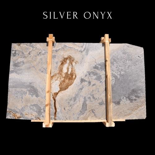 Gold Onyx-Silver Onyx
