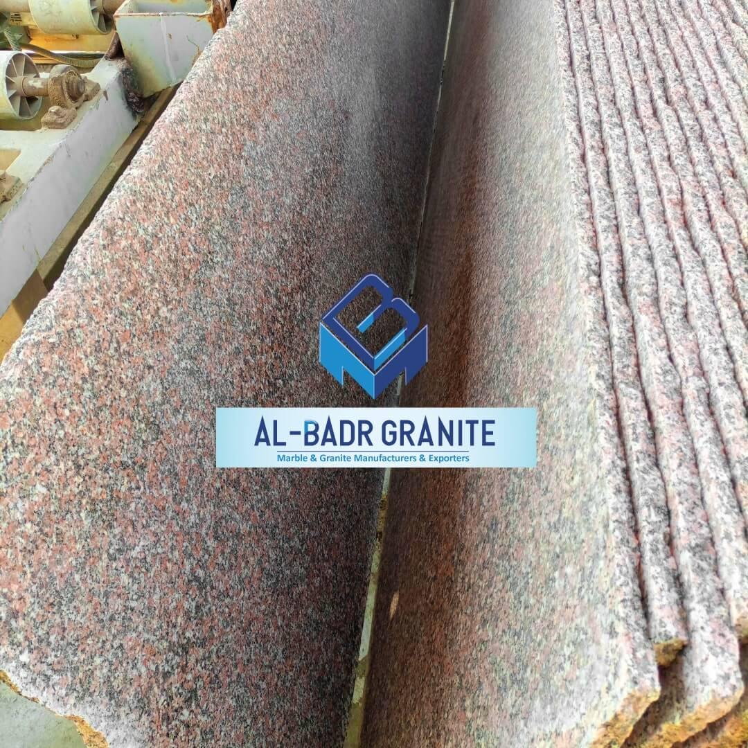 Rose Granite Slabs - Granit Roca