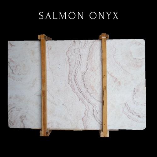 Light Dersert Rose Onyx - Salmon Onyx