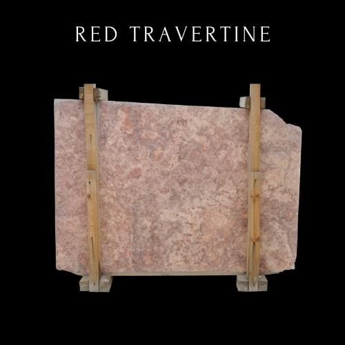 California Sunset Travertine-Persian Red Travertine