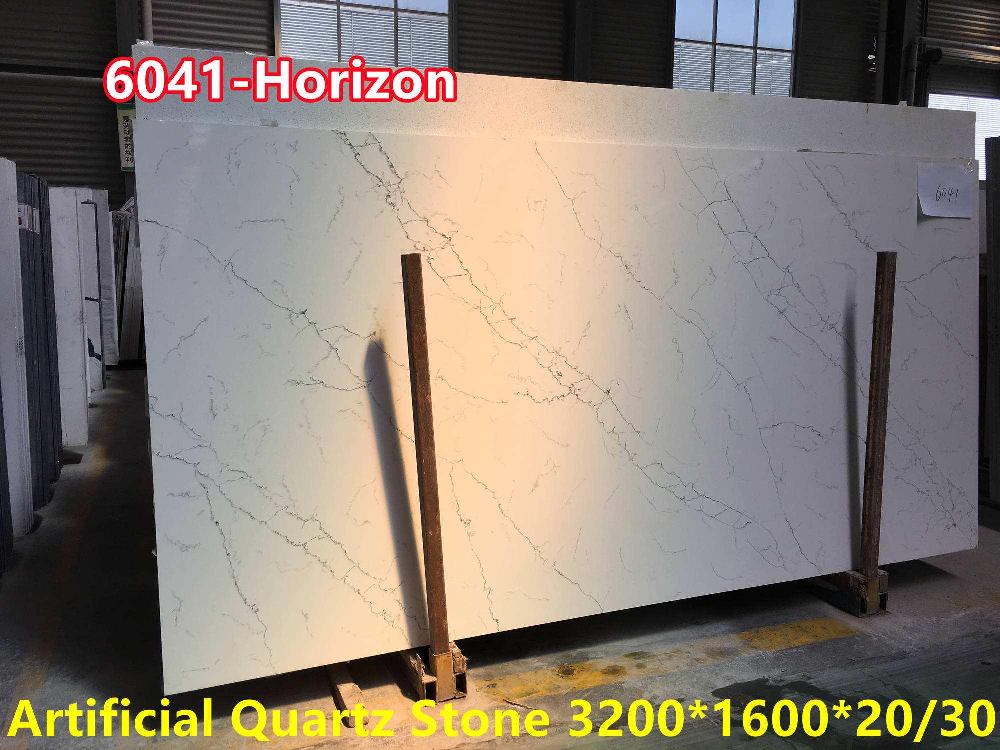 Factory Artificial quartz stone slab 3200 1600 20