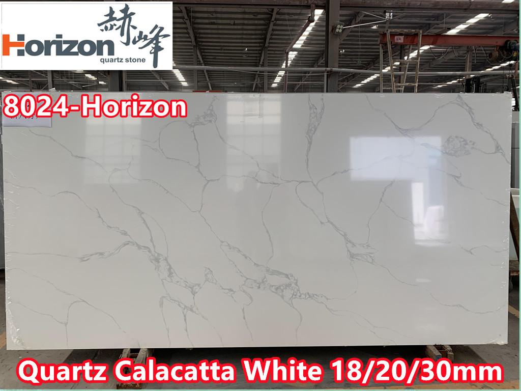 quartz slab calacatta white kitchen countertops