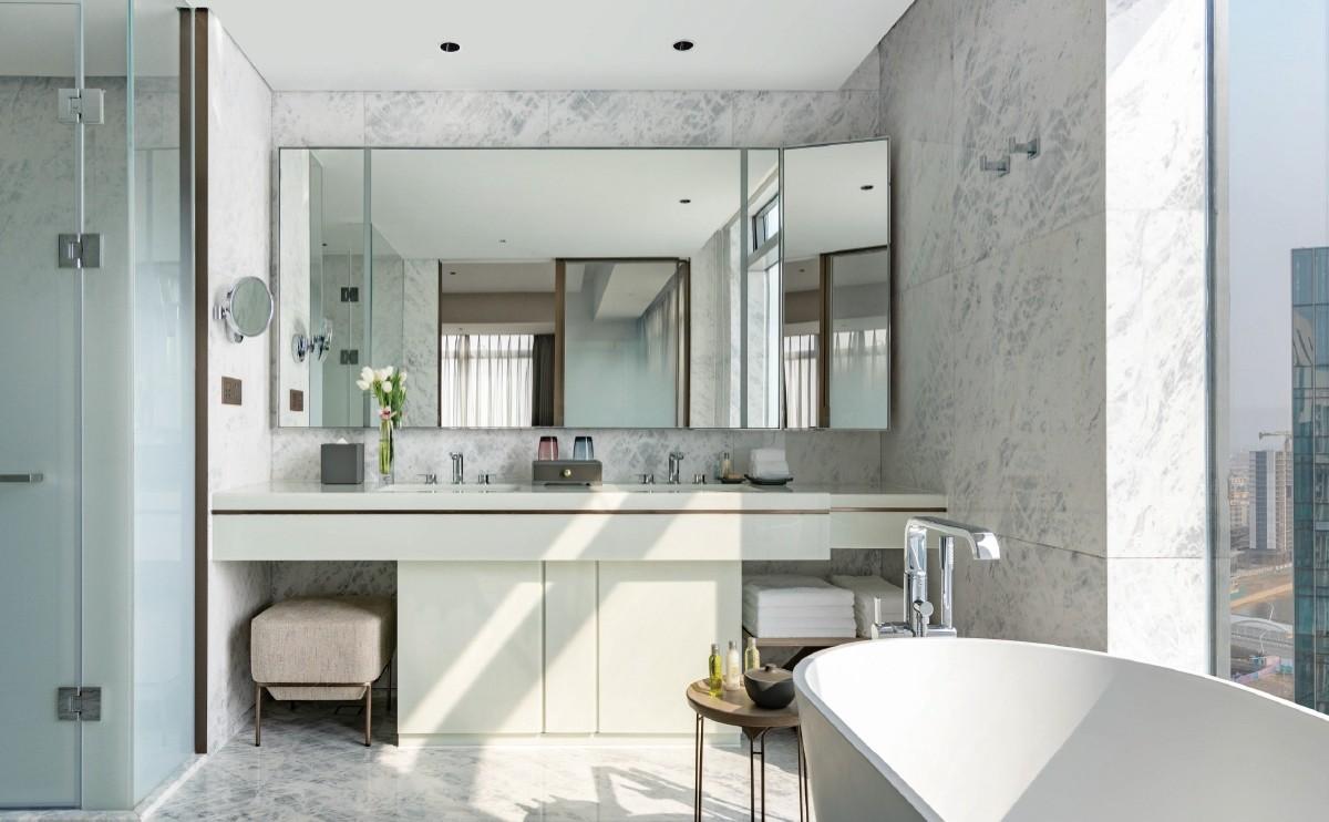 Kartso Super White Nano Crystallized Glass Stone Slab For Hotel Vanity top