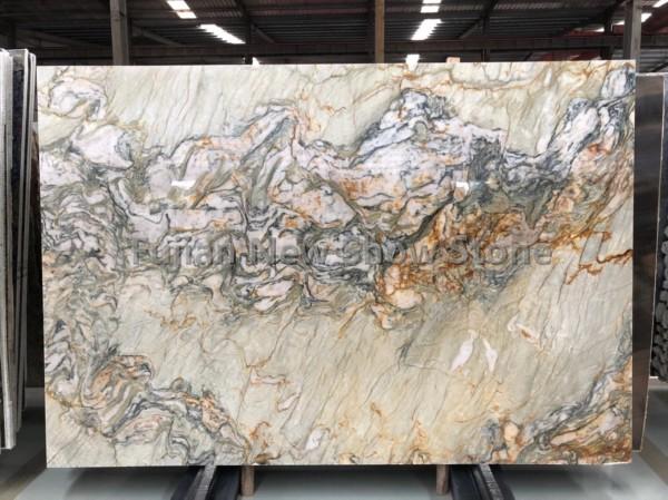 Luxury stone green slab